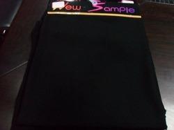 Black Nida Abaya Fabric