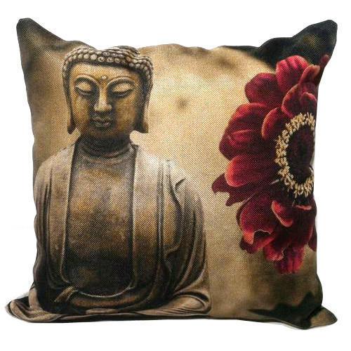 Buddha Print Cushion Covers