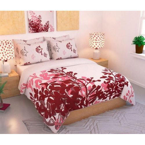 Floral Print Bed Cover Set