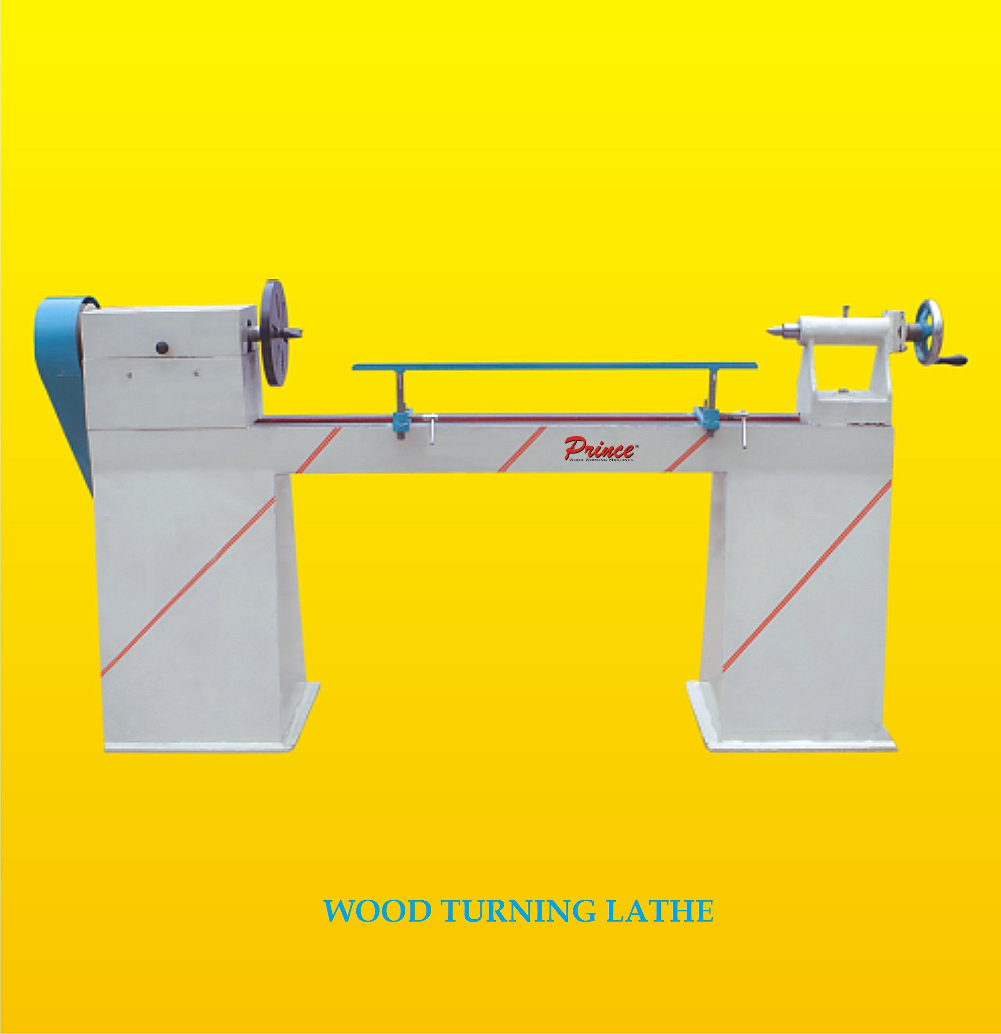 Wood Turning Lathe Machine