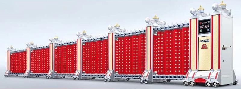 Aluminum Retractable Gates