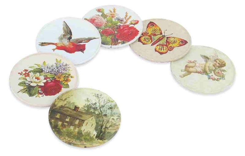 Tin Coasters