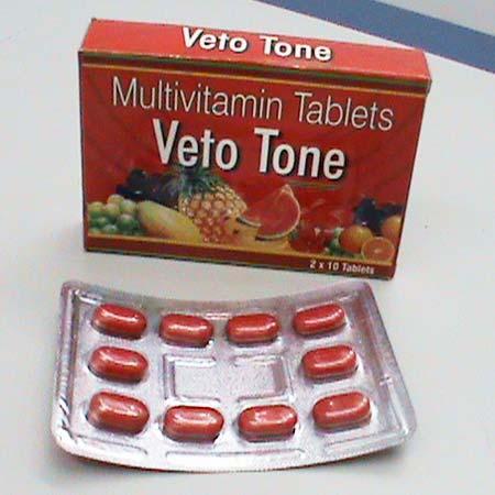 Veto Tone Multivitamin Tablets