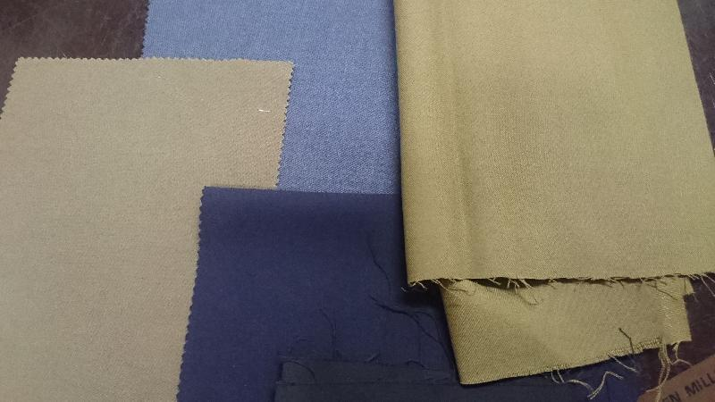 Serges Poly Wool Fabric 01