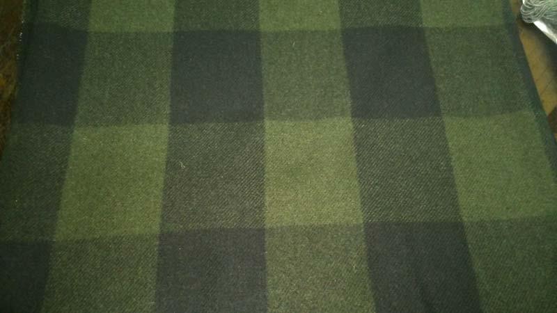 Woollen Check Fabric