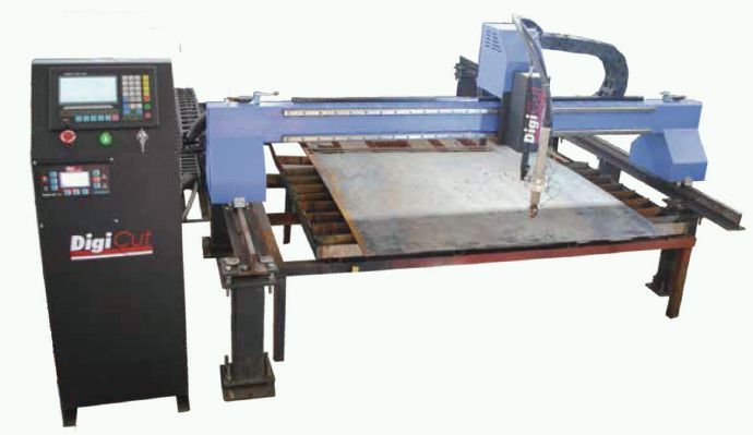 DGL Gantry CNC Profile Cutting Machine
