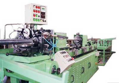 Tube Finning Machine