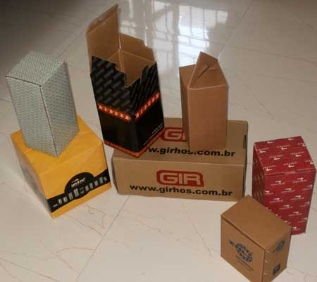 Kraft Paper Corrugated Boxes