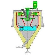 Vertical Flow Type Air Separator