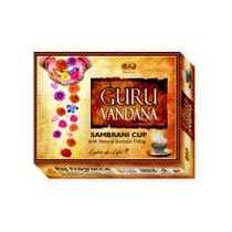 Guru Vandana Sambrani Cups Incense Sticks