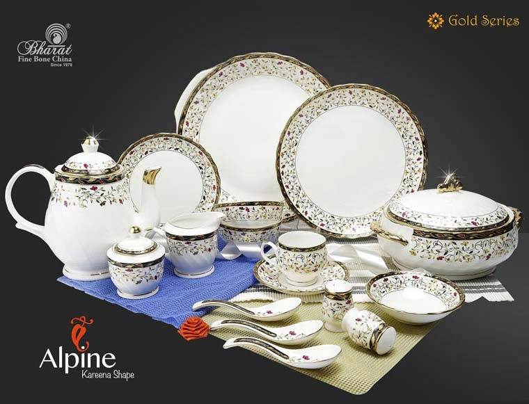 Gold Series Dinner Set