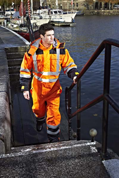 High Vis Coverall