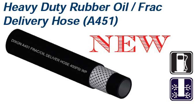 Dixon Heavy Duty Rubber Oil Delivery Hoses