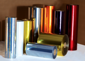 Metallised PVC Film