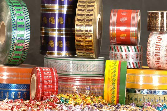 PVC Twist Films for Confectionery Wrapping