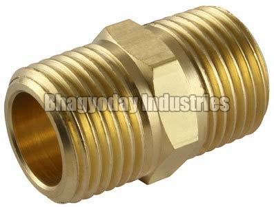 Brass Gas Fitting Nipples