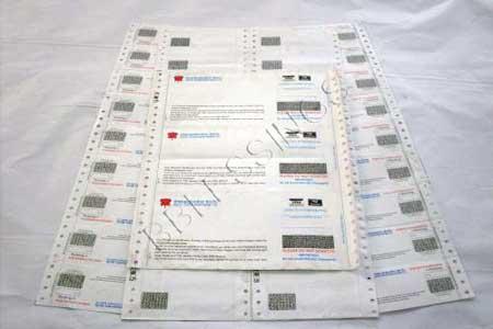 Bank PIN Mailer