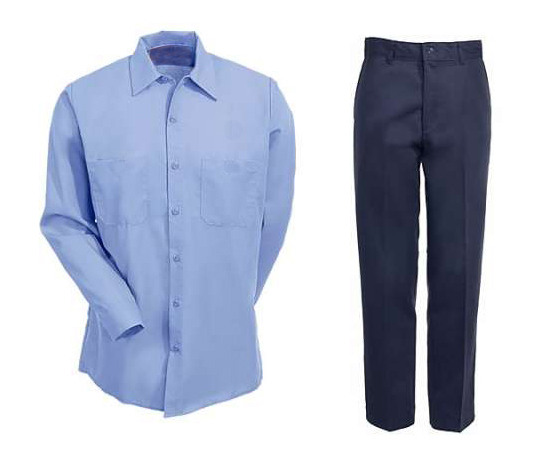 Mens Formal Shirt & Pant Set