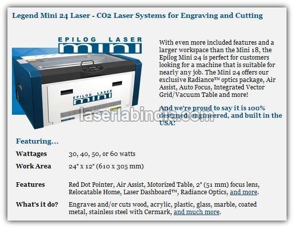 Mini 24 Laser
