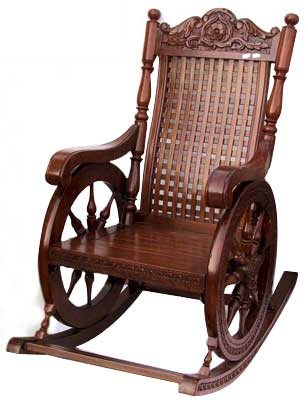 Awesome Wooden Rocking Chair