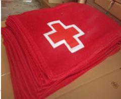 Red Cross Blankets
