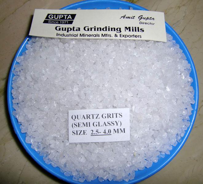 Quartz Grits
