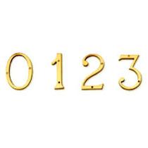 Brass Numerals