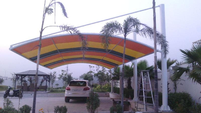 Car Parking Tensile Structure 04