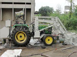 Cotton Ginning Tractor Loader