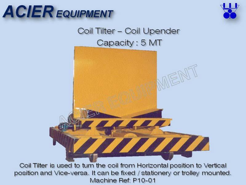 Coil Upender Tilter