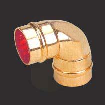 Copper Solder Ring Sort Radius Elbow