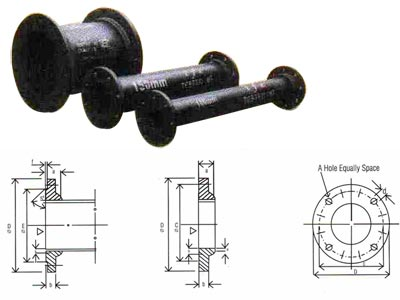 Double Flanged Pipes