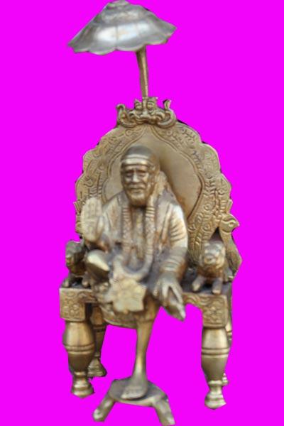 Bronze Sai Baba Statue