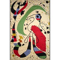 Picasso Chain Stitched Rug 03