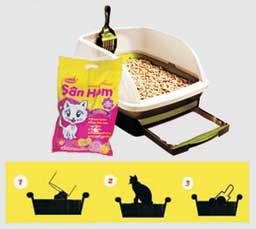 Clumping Cat Litter (San Him)