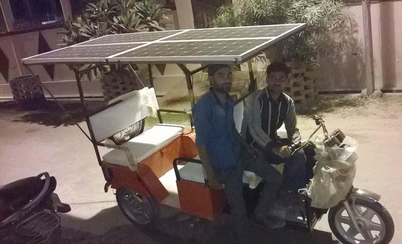 Sunbright Solar Rickshaw