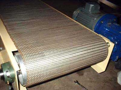 Wire Mesh Conveyor Stainless Steel Wire Mesh Conveyor