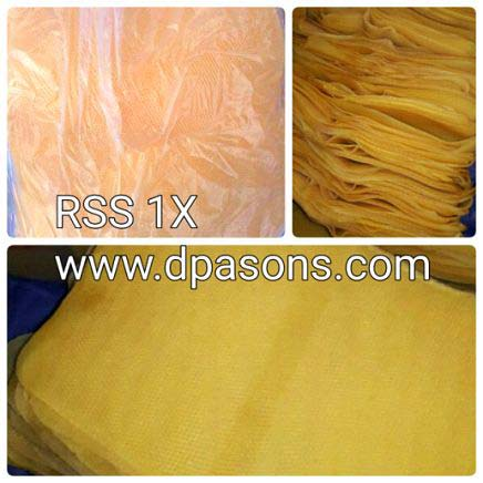 Natural Raw Rubber (RSS - 1X)