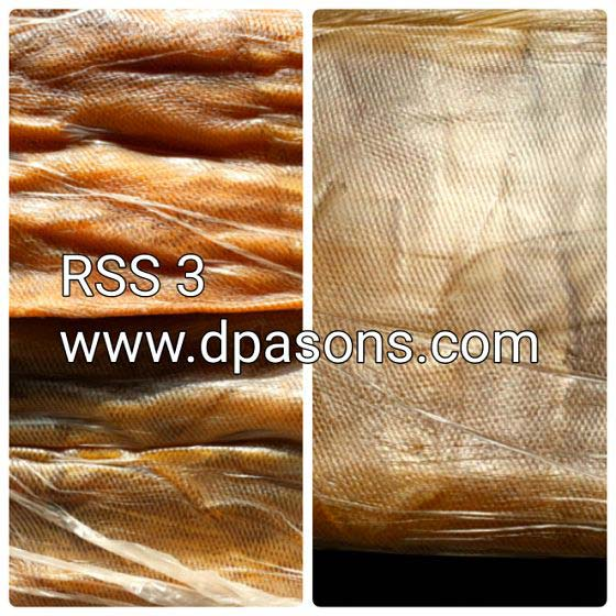 Natural Raw Rubber (RSS - 3)