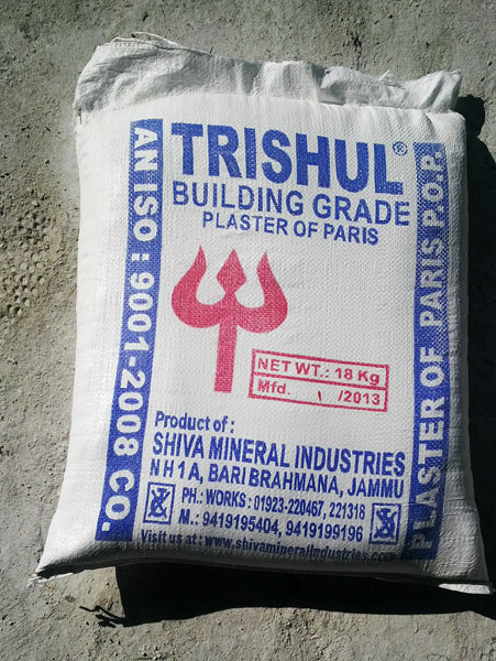 Plaster of Paris (Building Grade)