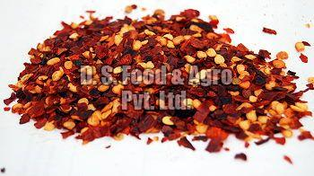 Dehydrated Red Chilly Flakes