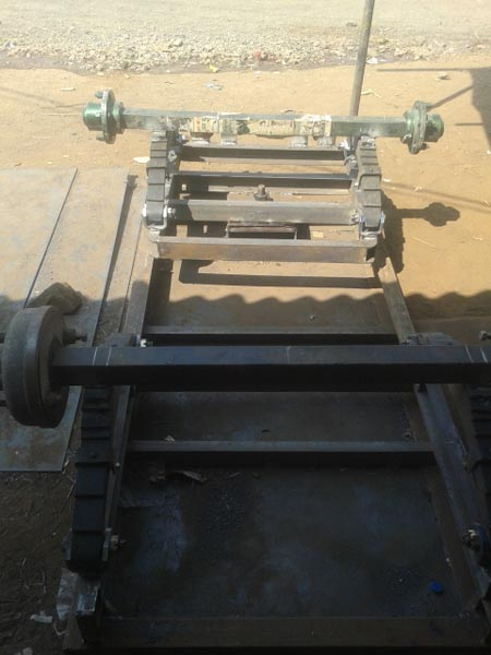 4 Wheel Trolley Chassis View