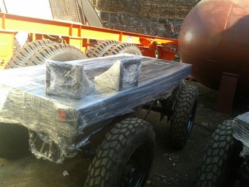 Genset trolley shrink Pack  View
