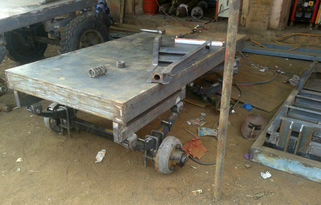 Manufacturing Process of 4 Wheel Trolley