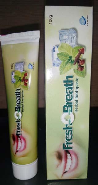 Fresh-O-Breath Herbal Toothpaste