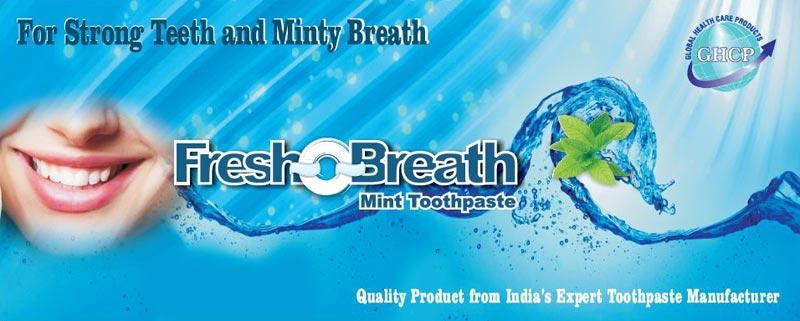 Fresh-O-Breath Mint Toothpaste