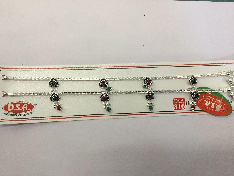 810 Hallmark Silver Anklet 03