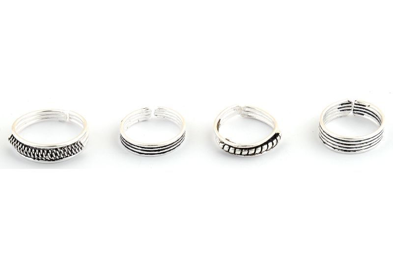 92.5 Silver Toe Ring 02