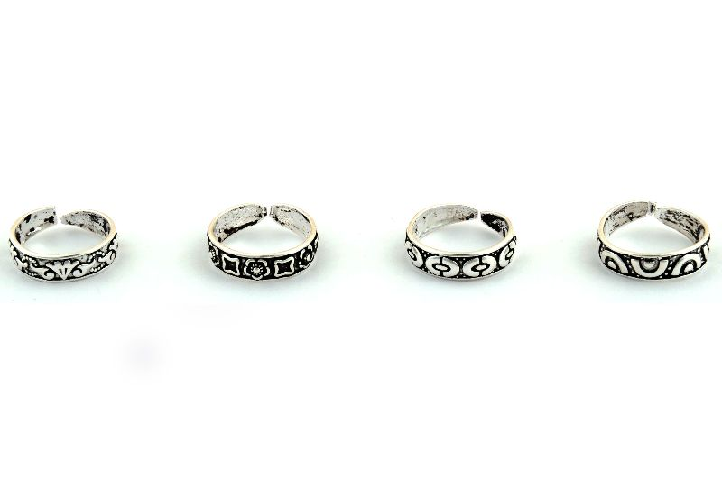 92.5 Silver Toe Ring 03
