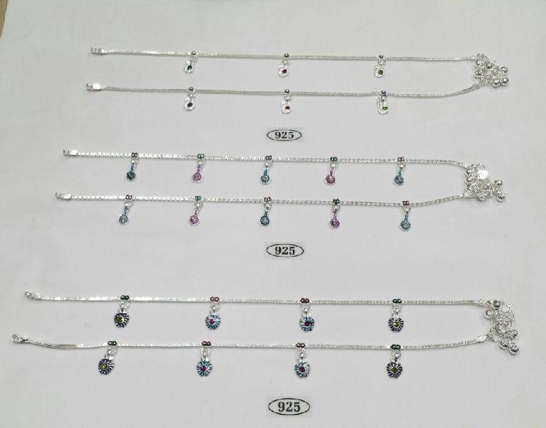 92.5 Sterling Silver Anklet 04